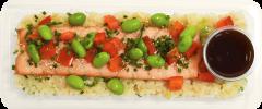 Teriyaki Salmon & Tempura Rice - Individual