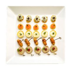 Christmas Canape Selection
