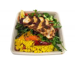 Moroccan Chicken with Cous Cous Salad - Bento Box