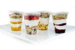 A Selection of Gluten Free Granola Pots