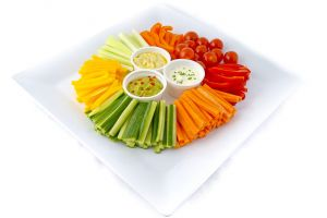 Fresh Crudities with Dips