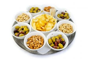 A Selection of Nibbles & Olives