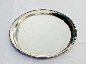 Stainless Steel Round Drink Trays