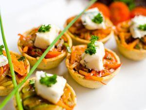 Roasted Vegetarian Tartlettes