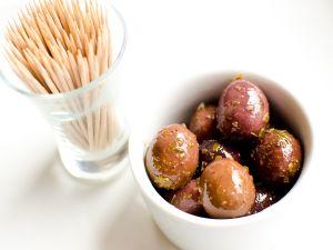 Rustica Marinated Black Olives
