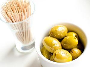 Campagnola Marinated Green Olives