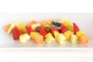 Fresh Fruit Skewers