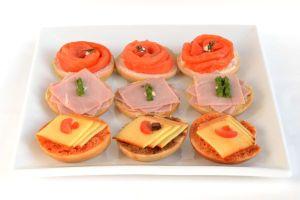 Breakfast Open Mini Bagels