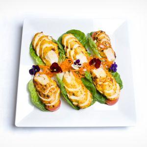 Cajun Spiced Chicken Salad Platter