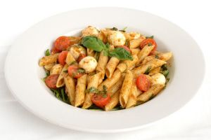 Mozzarella Pasta & Tomato Salad