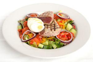 Loin of Seared Tuna & Egg Salad