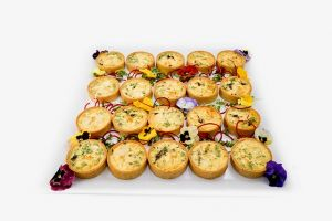 Goats Cheese & Caramelised Onion Quiche
