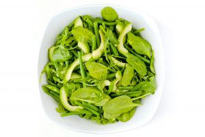 Large Bowl of Fresh Green Salad