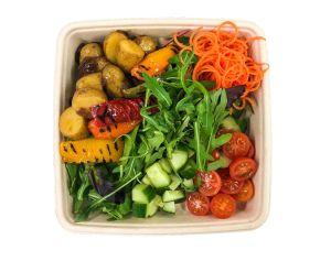 Vegan Bento Box - Potato Salad with Mixed Peppers