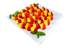 Mango & Strawberry Skewers