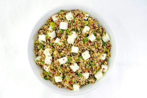 Large Bowl of Quinoa with Feta