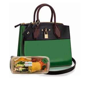 The Vuitton Lunch Bag - Vegetarian