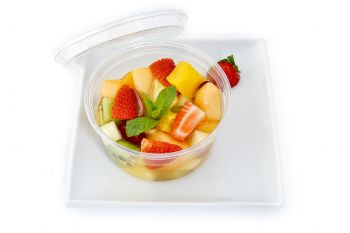 Exotic Fresh Fruit Salad Pot
