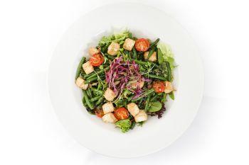 Tofu & French Green Bean Salad