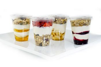A Selection of Gluten Free Granola Pots
