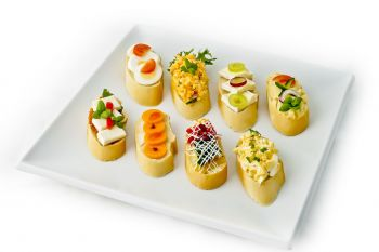 Mini Open Sandwich Selection