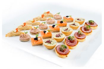 The Opulent Canape Selection