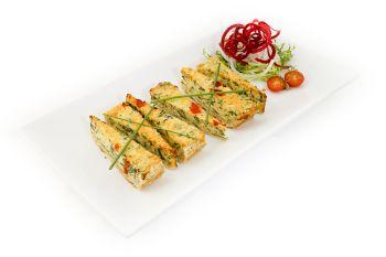 Vegetarian Quiche Slices