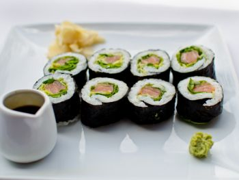 Organic Salmon Rolls