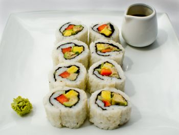 Vegetarian Californian Rolls