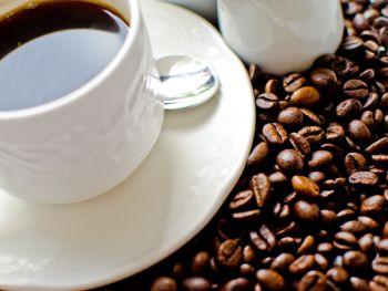 Cup Saucer and Teaspoon