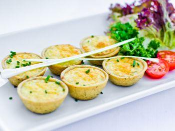 French Onion Mini Tartlettes