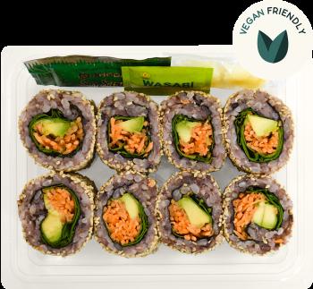 Black Rice Avocado & Mint Sushi - Individual