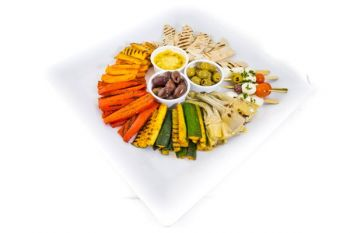 Anti Pasti Platter with Houmous Dip