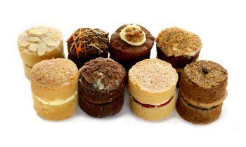 Individual Baby Sponge Cakes