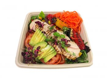 Roasted Chicken & Avocado - Bento Box