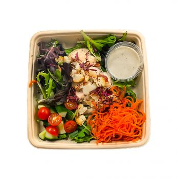 Chargrilled Chicken Caesar Salad - Bento Box