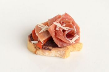 Parma Ham with Black Olive Tapanade