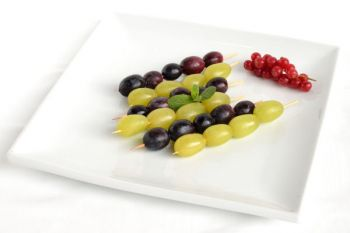 Two Tone Grape Skewers