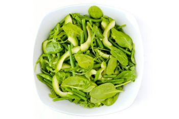 Large Bowl of Fresh Green Salad