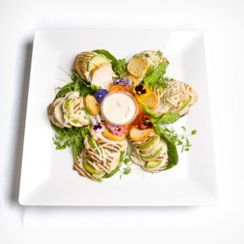 Grilled Chicken Caesar Salad Platter