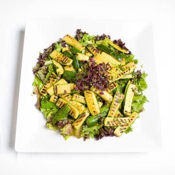 Platter of Freshly Grilled Courgette Salad