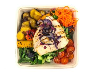 Italian Roasted Chicken with Potato Salad - Bento Box