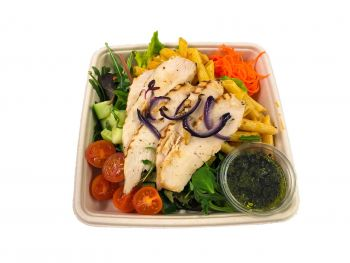 Chicken with Pasta Salad -  Bento Box