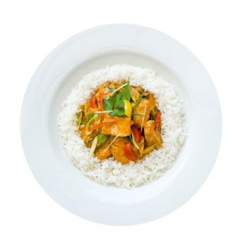 Keralan Chicken Curry with Rice Menu