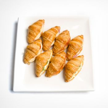 Miniature Savoury Filled Breakfast Croissants