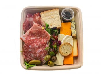 Anti Pasti Platter of Cheese & Charcuterie - Bento Box