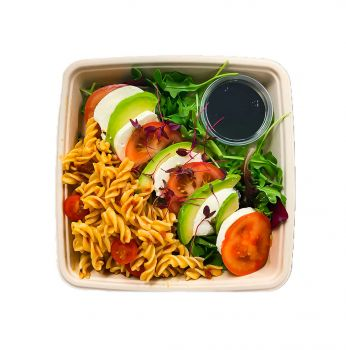 Tricolore Salad with Pasta - Bento