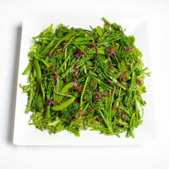 Platter Of Asian Style Green Salad