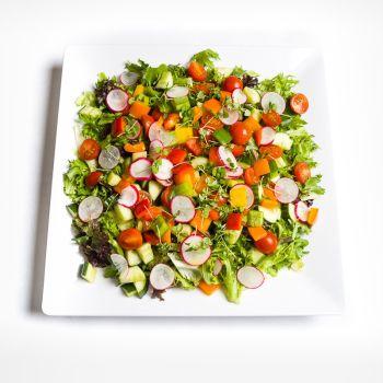 Platter Of Fresh Garden Salad