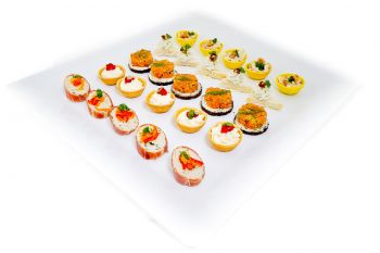 The Royale Canape Selection
